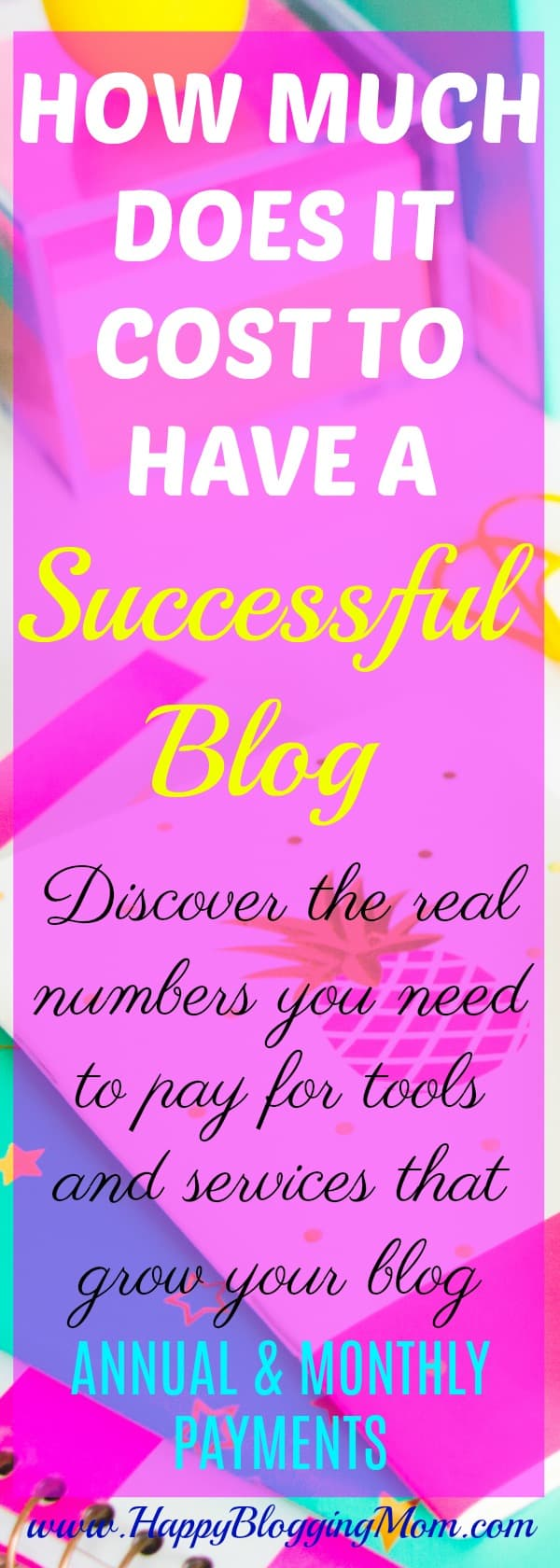 Interested to start a blog? Want to know how much it costs to start a successful blog? In this posts, I will share with you all the blog expenses that will show you how much it really costs to have a successful blog! Click here to read more!